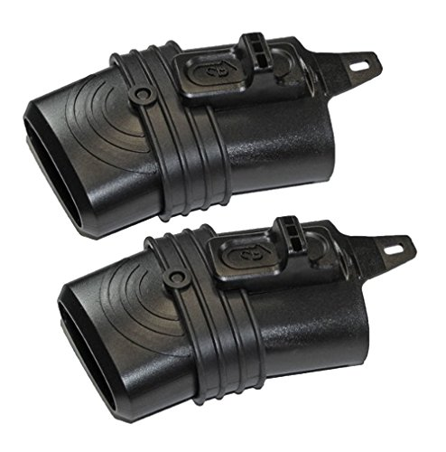 Blaster Replacement Nozzle - Black & Decker LH5000 Blower Replacement (2 Pack) Leaf Blaster Nozzle # 90525022-2pk