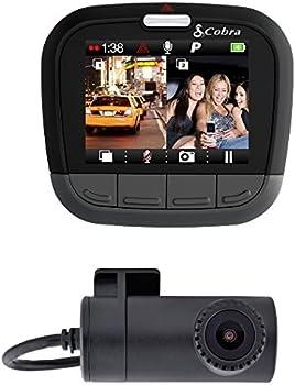 Cobra Electronics Drive HD 1080P Full HD Dual Channel Dash Cam