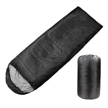 Dbloom - Saco de Dormir Ligero para Acampada, 4 Estaciones ...