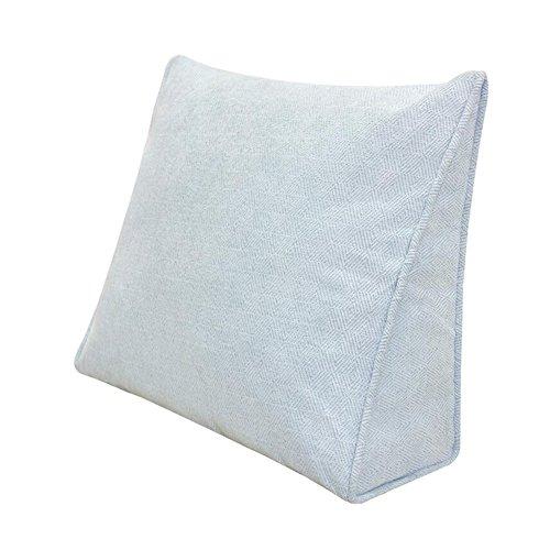 Reading ufficiocoloregiallodimensioni Back Cushion Supporto Room 45x40x15cmBianco Living Back Sedia Rest Cjc Pillow da Textile Wedge Sofa Cover 7gbfyY6