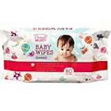 Scented Baby Wipes in a Resealable Pack 80 ct - Bulk Case of 24