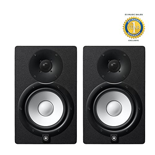 Yamaha HS7 Active Studio Monitor (Pair) with 1 Year Free Extended Warranty