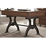 "Liberty Furniture 411-HO107 Arlington House Home Office Writing Desk, 56"" x 30"" x 31"", Cobblestone Brown"