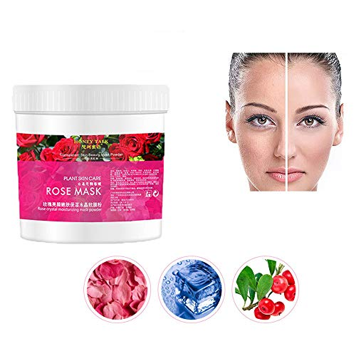 500G Rose Face Moisturizing Mask Powder -Vovomay Pore Cleansing Removes Skin Impurities