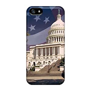 Pretty GUcRv11687jXcog Iphone 5/5s Case Cover/ White House Series High Quality Case