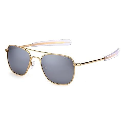 Unisex Metal Aviator Vintage Estilo Gafas Ultralight Gafas De Sol