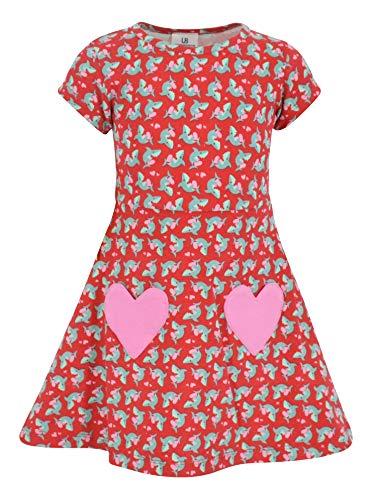 Unique Baby Girls Valentine's Day Shark Dress (3t)