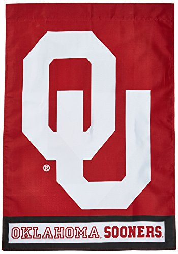 NCAA Oklahoma Sooners 2-Sided 28-by-40 inch House Banner With Pole Sleeve