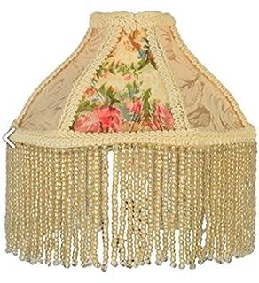 Smoky mauve lampshade amazon meyda tiffany 25901 fabric fringe roses lamp shade 6 width aloadofball Image collections