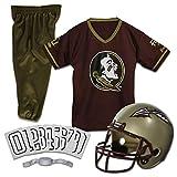 Franklin Sports NCAA Florida State Seminoles Kids College Football Uniform Set - Youth Uniform Set - Includes Jersey, Helmet, Pants - Youth Small