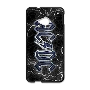 SANLSI Rock Band AC/DC Logo Cell Phone Case for HTC One M7