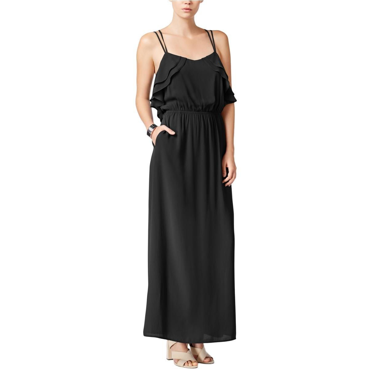 Bar Iii Ruffled Maxi Dress