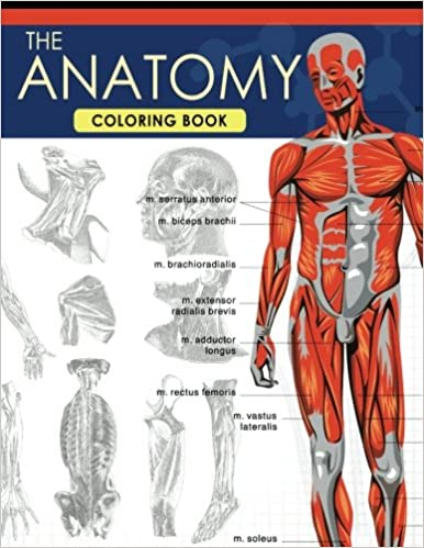 The Anatomy Coloring Book: A Complete Study Guide (9th Edition): Dr ...