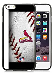 Newest iPhone 6 Plus/iPhone 6S Plus TPU Screen Case ,Unique And Fashionable Designed Case With St Louis Cardinals (2) Black iPhone 6 Plus/iPhone 6S Plus 5.5 Inch TPU Phone Case