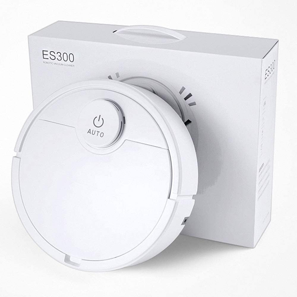 Robot Vacuum Cleaner Robot Vacuum-Wi-Fi Connectivity, Compatible with Alexa, Good for Pet Hair,Carpets, Hard Floors, Self-Charging.