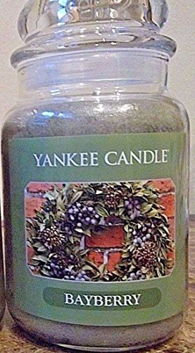 - Yankee Candle Large BAYBERRY Jar Candle