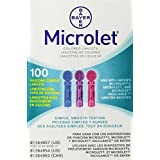 Bayer Microlet Colored Lancets