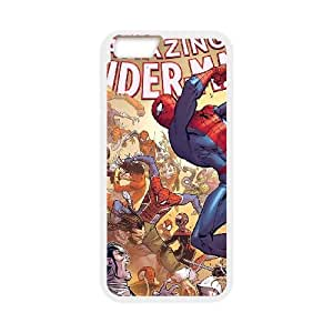 spiderman iPhone 6 Plus 5.5 Inch Cell Phone Case White Pretty Present zhm004_5013684