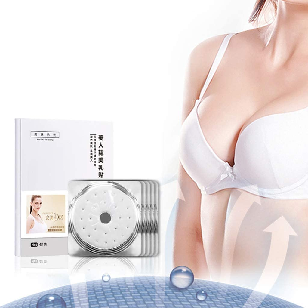Novania Upright Breast Lifter Anti Sagging Anti Wrinkle Enhancer Patch Breast Butt Growth Formula Natural Moisturizer Soft Smooth Skin 4//8//12//16 Box A