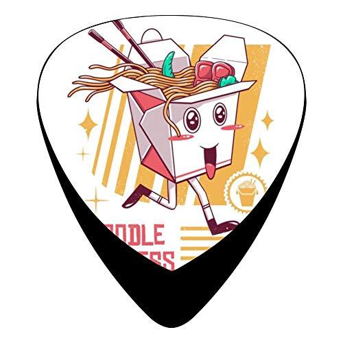 Noodle Express 351 Shape Medium Classic Celluloid Picks, 12-Pack, For Electric Guitar, Acoustic Guitar, Mandolin, And - Noodle Mandolin