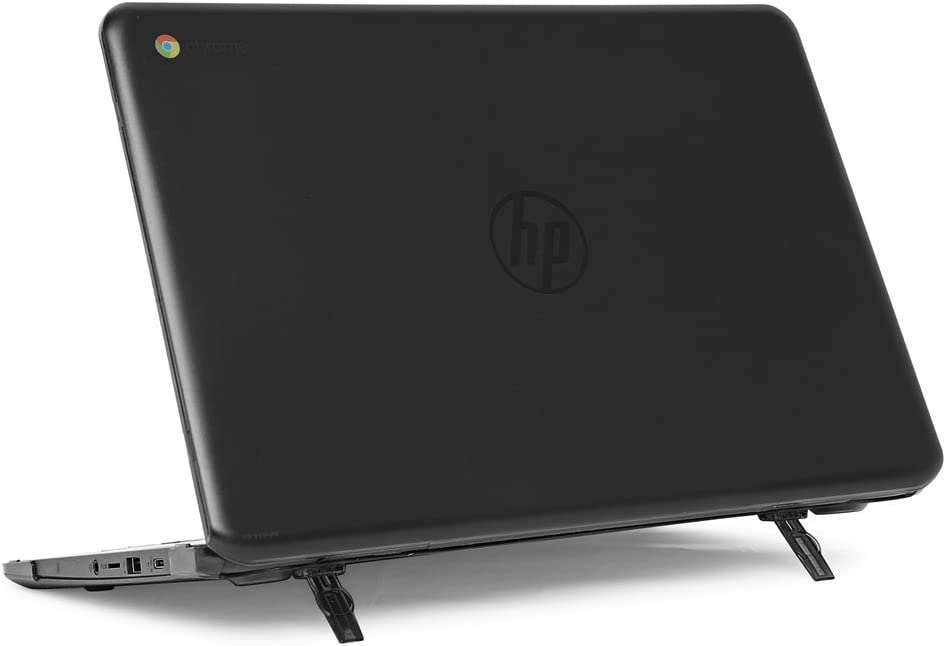 "mCover Hard Shell Case for 14"" HP Chromebook 14 G5 / 14-CA / 14-DB Series (NOT Compatible with Older HP C14 G1 / G2 / G3 / G4 Series) laptops (HP C14-G5 Black)"