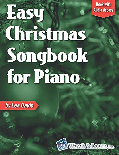 Easy Christmas Songbook for Piano: Book with Online Audio Access