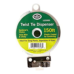 H. B. Smith Twist Tie Dispense – Ideal for trying Plants, Vegetables, and Vines
