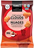 Frankie's Organic Chips - Crunchy BBQ Puffs Baked - Vegan, Gluten Free, No Gmo, Sprouted Protein Snacks - 140 Grams