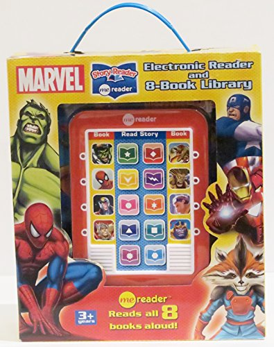 Marvel Me Reader 3 Inch   8 Book Box