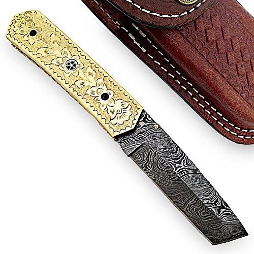 Alaska Sunrise Handmade Damascus Steel Knife