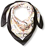 Salvatore Ferragamo Women's Patterned Scarf, Nero