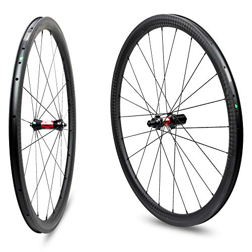 Yuanan DT Swiss 240 Hub Sapim CX Ray 38mm Aero Carbon Climbing Wheel Clincher Tubular Tubeless Road Bike Wheelset