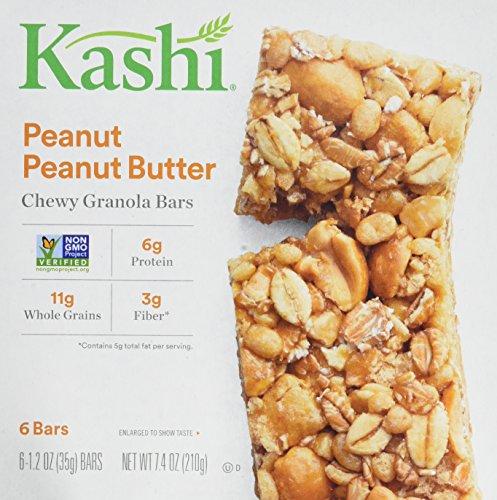 Kelloggs Kashi TLC Chewy Peanut Butter Granola Bar - 12 per case. (Peanut Butter Kashi)