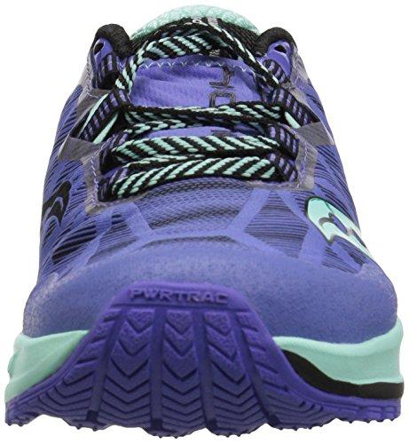 Womens St Trail Aqua Koa Violet 5 Saucony løbesko Eu 40 6qOp4I