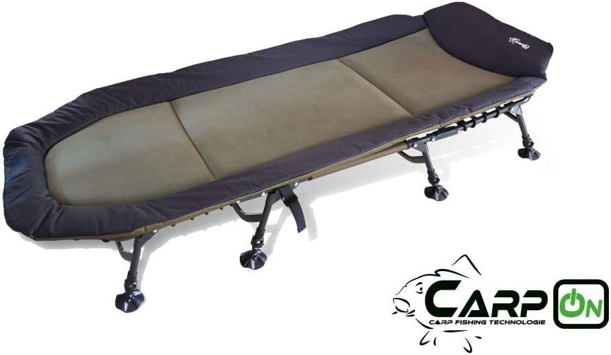 CarpOn XXL Liege 8 Bein Bedchair Karpfenliege Beine