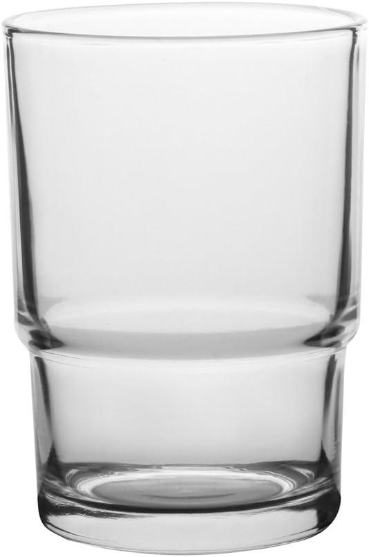 Livpow vetro portaspazzolino e portasapone di ricambio per universale accessori da bagno Clear