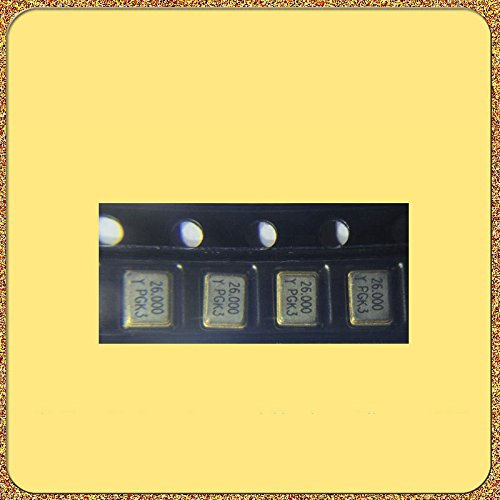 HUABAN 10PCS Industrial Grade SMD Resonator JYXT32S4-026.00000-9JE290 3225 26Mhz 6PF ±10ppm -20 to +70degree Passive Crystal