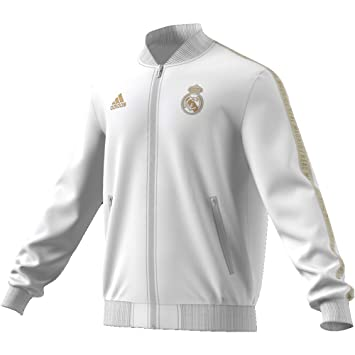 adidas Real Anthem Jkt Chaqueta, Hombre: Amazon.es: Deportes ...
