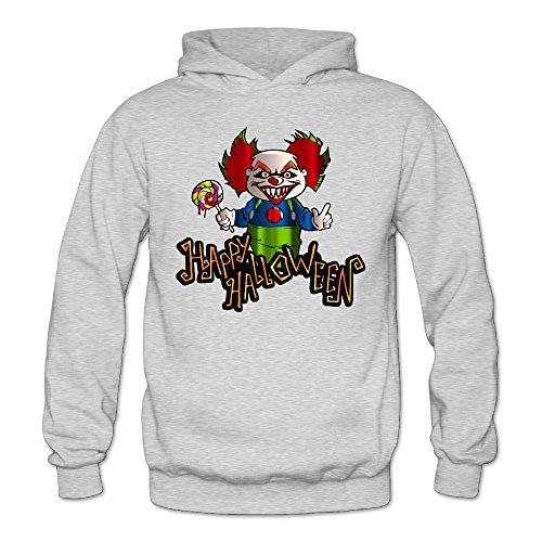 XJBD Women's Halloween Handsome Sweater Ash Size (Halloween Movies Imdb)