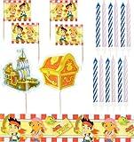 Amscan International - Kit de decoración para tartas, diseño de Jake y los Piratas
