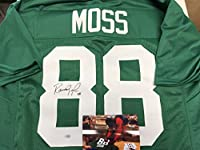 Randy Moss Autographed Signed Marshall Rare College Custom Jersey Hologram & Coa Card W/Photo From Signing