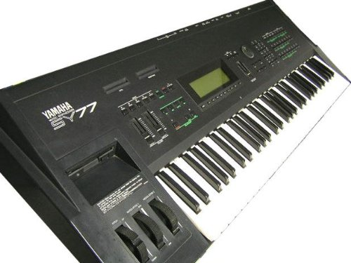 YAMAHA SY77 Music Synthesizer Keyboard