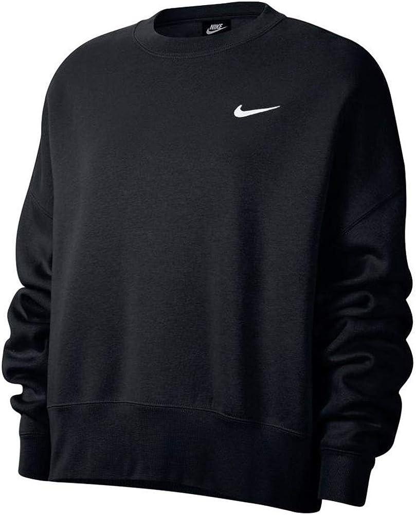 Nike Sportswear Essentials Women's Fleece Crew Ck0168-010: Clothing