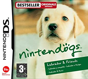 nintendogs ds labrador