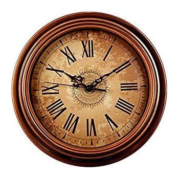 Amazon.com: SonYo Silent Non-Ticking Round Wall Clocks (12