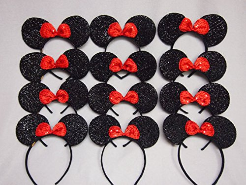 CLGIF (Red Minnie Party Supplies)