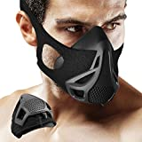 Training Mask - 4 Level Air Flow Regulator Sport Exercise Breathing Mask with High Altitude Elevation Effects for Running/Biking/ Fitness/Jogging
