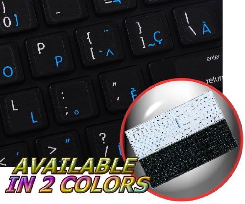 Read Online MAC FRENCH CANADIAN - ENGLISH NON-TRANSPARENT STICKER FOR KEYBOARD ON BLACK BACKGROUND PDF
