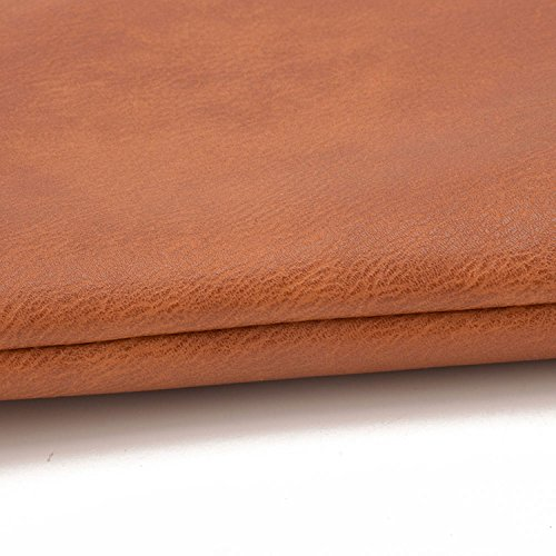 JIARUO Black Crossbody Handbag Small Leather bag Envelope Purses Women PU Slim Lightweight qqrwOxUB74