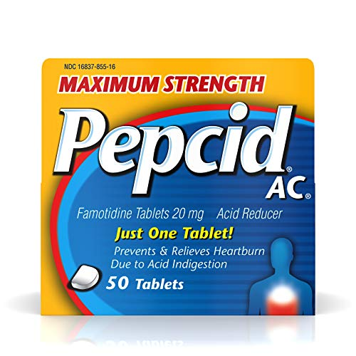 Maximum Strength Pepcid Ac All Day Heartburn Relief